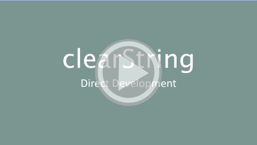 Launch clearString Direct Development video